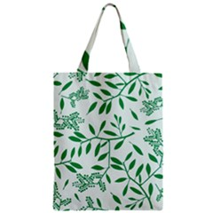 Leaves Foliage Green Wallpaper Classic Tote Bag by Nexatart