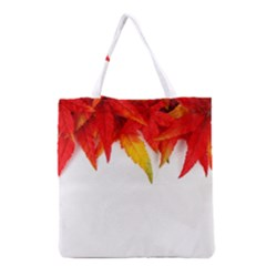 Abstract Autumn Background Bright Grocery Tote Bag by Nexatart