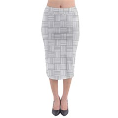 Flooring Household Pattern Midi Pencil Skirt by Nexatart