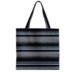 Sheet Holes Roller Shutter Zipper Grocery Tote Bag by Nexatart