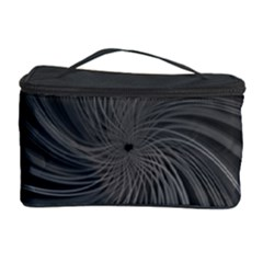 Abstract Art Color Design Lines Cosmetic Storage Case by Nexatart