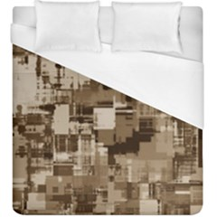 Color Abstract Background Textures Duvet Cover (king Size) by Nexatart