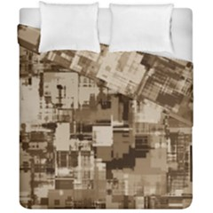 Color Abstract Background Textures Duvet Cover Double Side (california King Size) by Nexatart