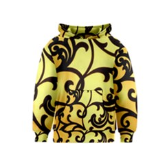 Texture Pattern Beautiful Bright Kids  Pullover Hoodie
