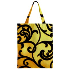 Texture Pattern Beautiful Bright Zipper Classic Tote Bag