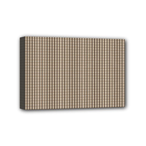 Pattern Background Stripes Karos Mini Canvas 6  X 4  by Nexatart