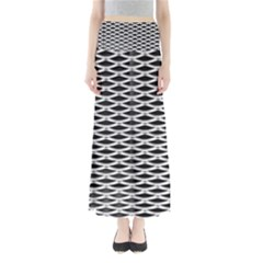 Expanded Metal Facade Background Maxi Skirts