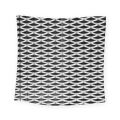 Expanded Metal Facade Background Square Tapestry (small) by Nexatart