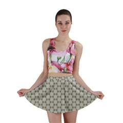 Background Website Pattern Soft Mini Skirt