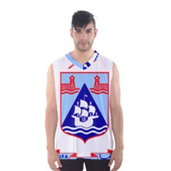 Haifa Coat Of Arms  Men s Basketball Tank Top by abbeyz71
