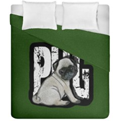 Pug Duvet Cover Double Side (california King Size)