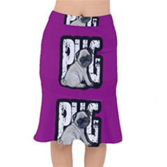 Pug Mermaid Skirt