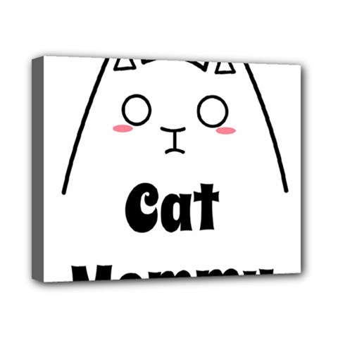 Love My Cat Mommy Canvas 10  X 8  by Catifornia