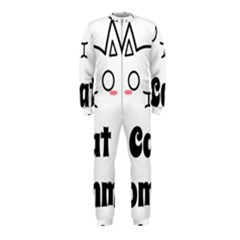 Love My Cat Mommy Onepiece Jumpsuit (kids)