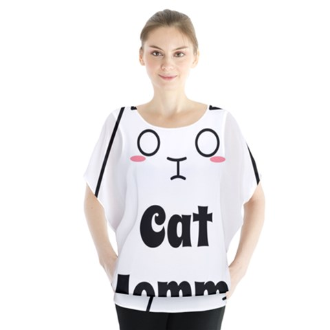 Love My Cat Mommy Blouse by Catifornia
