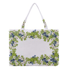 Birthday Card Flowers Daisies Ivy Medium Tote Bag