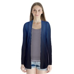 Black Blue Line Vertical Space Sky Cardigans by Mariart