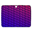 Hexagon Widescreen Purple Pink Samsung Galaxy Tab 3 (10.1 ) P5200 Hardshell Case  View1