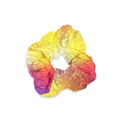Multi Colour Alpha Velvet Scrunchie by Mariart