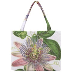 Passion Flower Flower Plant Blossom Mini Tote Bag by Nexatart