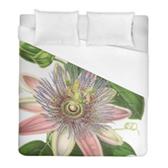Passion Flower Flower Plant Blossom Duvet Cover (full/ Double Size) by Nexatart