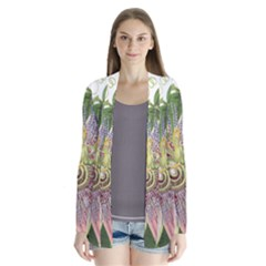 Passion Flower Flower Plant Blossom Cardigans by Nexatart