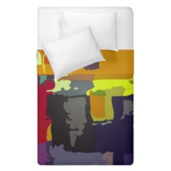 Abstract Vibrant Colour Duvet Cover Double Side (single Size)