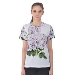 Flower Plant Blossom Bloom Vintage Women s Cotton Tee