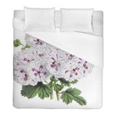 Flower Plant Blossom Bloom Vintage Duvet Cover (full/ Double Size) by Nexatart