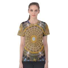 Arches Architecture Cathedral Women s Cotton Tee