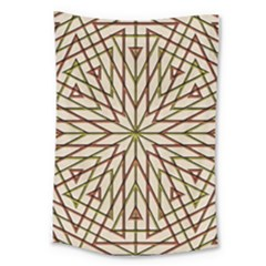 Kaleidoscope Online Triangle Large Tapestry