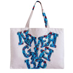 Sport Crossfit Fitness Gym Never Give Up Mini Tote Bag by Nexatart
