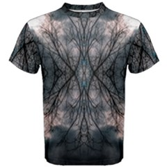 Storm Nature Clouds Landscape Tree Men s Cotton Tee