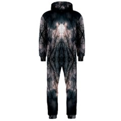 Storm Nature Clouds Landscape Tree Hooded Jumpsuit (men)