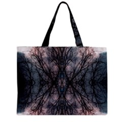 Storm Nature Clouds Landscape Tree Medium Tote Bag by Nexatart