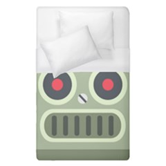 Robot Duvet Cover (single Size) by BestEmojis