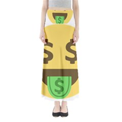 Money Face Emoji Maxi Skirts by BestEmojis