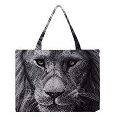 My Lion Sketch Medium Tote Bag