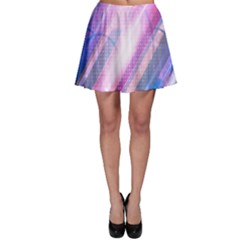 Widescreen Polka Star Space Polkadot Line Light Chevron Waves Circle Skater Skirt