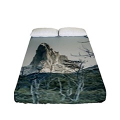 Fitz Roy Mountain, El Chalten Patagonia   Argentina Fitted Sheet (full/ Double Size) by dflcprints