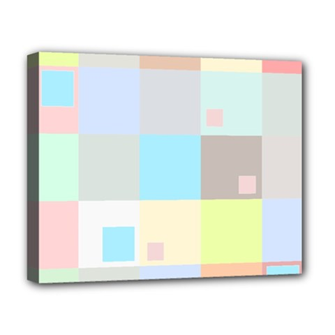 Pastel Diamonds Background Deluxe Canvas 20  X 16