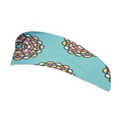 Circle Vector Background Abstract Stretchable Headband