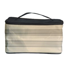 Notenblatt Paper Music Old Yellow Cosmetic Storage Case