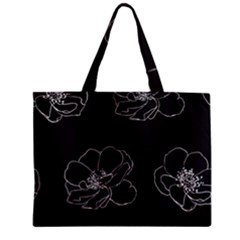 Rose Wild Seamless Pattern Flower Zipper Mini Tote Bag by Nexatart
