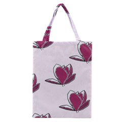 Magnolia Seamless Pattern Flower Classic Tote Bag