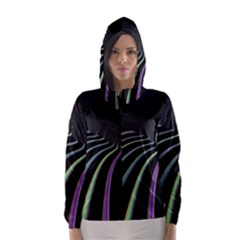 Graphic Design Graphic Design Hooded Wind Breaker (women)