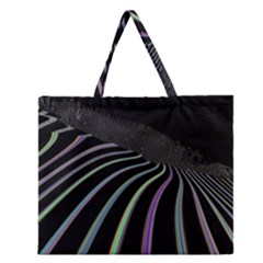 Graphic Design Graphic Design Zipper Large Tote Bag by Nexatart