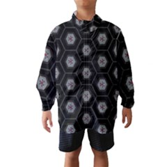 Mandala Calming Coloring Page Wind Breaker (kids)