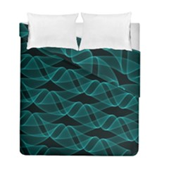 Pattern Vector Design Duvet Cover Double Side (full/ Double Size)