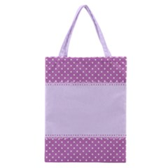 Purple Modern Classic Tote Bag by Nexatart